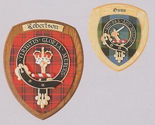 Family Clan Crest Plaque
