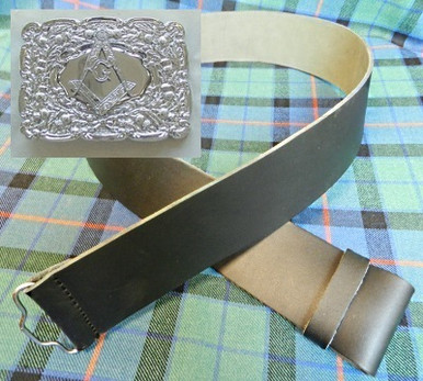 kilt belt and buckle
