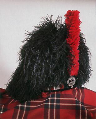 feather bonnet