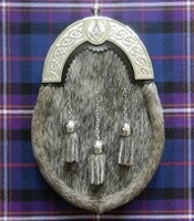 Evening Wear Sporran with Masonic Cantel
