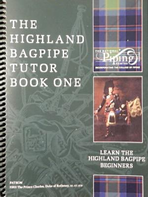 Highland Bagpipe Tutor Book 1