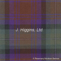 Poly/Viscous tartan by the yard (Isle of Skye)