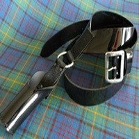 Black Flag Holder Harness