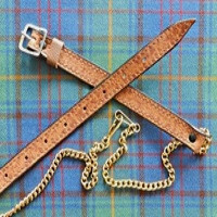 Brown & Gold Sporran Chain