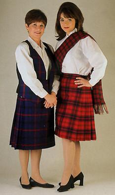 39866969a Womens Tartan Skirt | J. Higgins, Ltd.