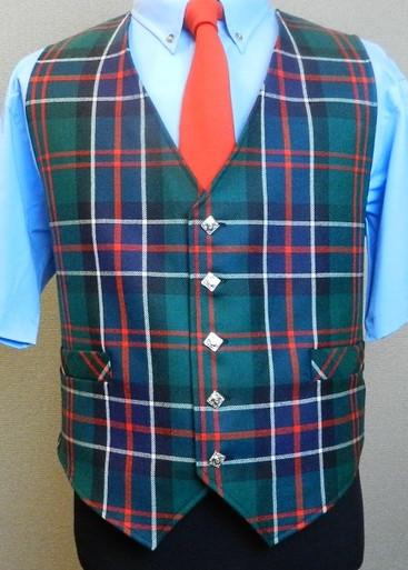 Tartan Waistcoat Vest
