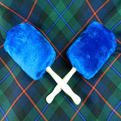 Max Attack Bass Mallets by Twisted Thistle Royal