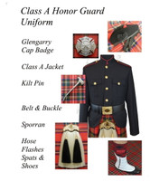 J Higgins Kilted Honor Guard Uniform