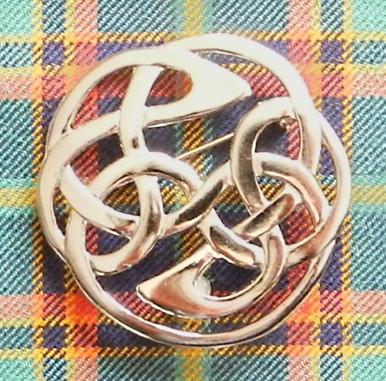 Celtic Interweaving Brooch