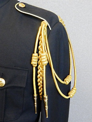 Gold Shoulder Braid