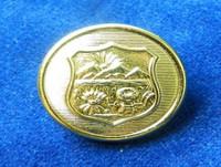 Ohio State Seal Button in Mirrabrite Finish