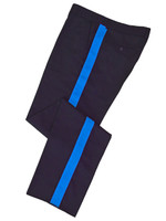 Navy w/ medium blue stripe Honor Guard Pants