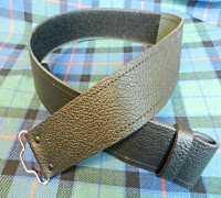 Kilt Belt with Velcro Closure