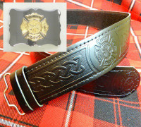 Fire Department Kilt Belt