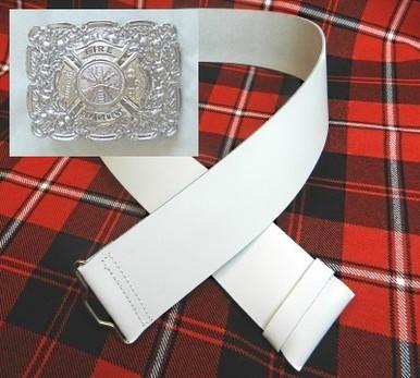 Fire department kilt belt