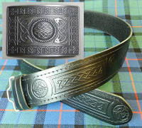 Serpent Buckle and Belt