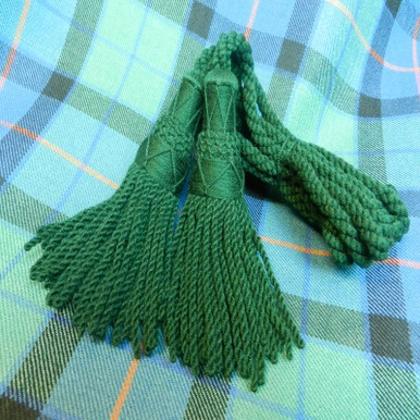 Green Wool Drone Cords