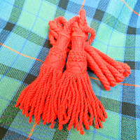 Red Wool Drone Cords