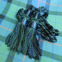 Black Watch Silk Drone Cords