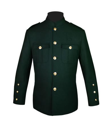 Bottle Green Honor Guard Jacket