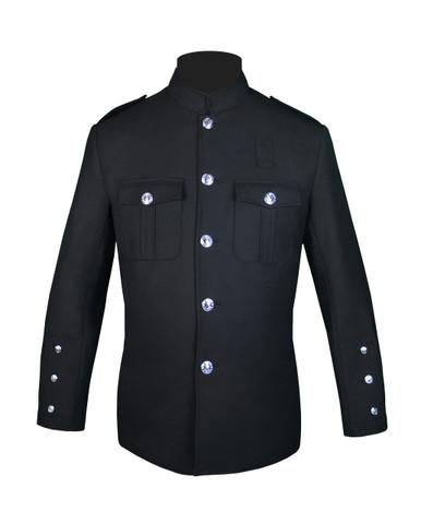 Black Honor Guard Jacket