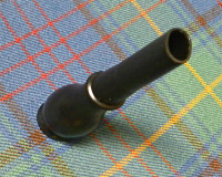 Oval Bagpipe mouthpiece