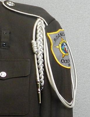 Tan Shoulder Cord w/ Metal Tip