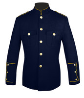 Navy Honor Guard Jacket w/ Gold Trim