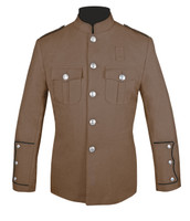 Tan Honor Guard Jacket w/ Black Trim