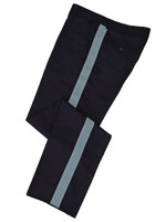 Navy w/ Powder Blue Stripe Honor Guard Pants