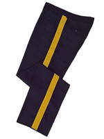 Navy w/ Gold Stripe Honor Guard Pants