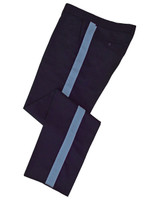 Navy w/ Columbia Blue Stripe Honor Guard Pants