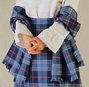 Tartan shawl