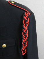 Black and Red Shoulder Cords