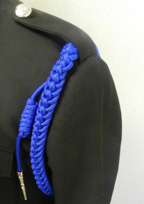 Royal Shoulder Cords w/ Nickle Tip
