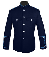 Navy Honor Guard Jacket w/ Medium Blue Trim