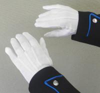 Honor Guard Gloves (White Cotton)