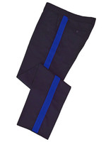 Navy w/ Royal Blue Stripe Honor Guard Pants