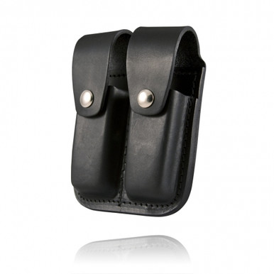 Boston Leather Double Mag Holder