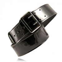 Boston Leather Sam Browne belt Clarino High Gloss