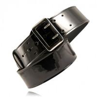 Boston Leather Sam Browne belt Clarino High Gloss
