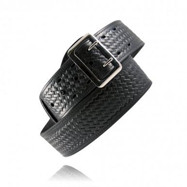 Boston Leather Sam Browne basket weave belt.