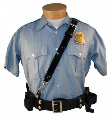 Boston Leather Cross Belt for Sam Browne Belt