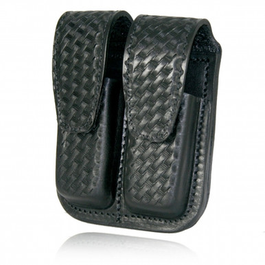 Mag holder for .45 caliber basketweave design