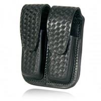 Mag holder for .45 caliber basketweave design