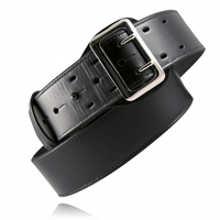 Plain Black Leather Sam Browne Belt