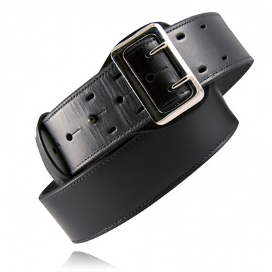Plain Black Leather Sam Browne Belt