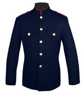 Fire Dept Honor Guard Jacket w/ Plain Sleeves