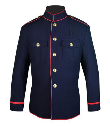 Fire Dept Jacket w/ Trimmed Sleeves
