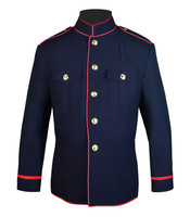 Fire Dept Jacket w/ Trimmed Sleeves